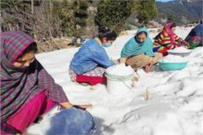 water scarcity in bhaderwah due tocold