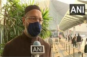 owaisi on the pitch of bengal after meeting religious leader