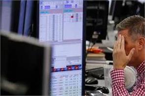 furore in stock market investors sunk 2 23 lakh crore rupees