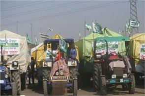 farmers march on january 7 tactor march preparations to close kmp road