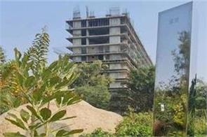 india s first  mysterious  monolith seen in gujarat