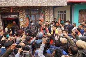 union minister prahlada patel targeted on sadha mamata