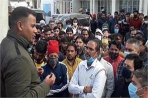 protest in kathua against cow killing