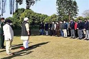 lg paid tribute to martyrs
