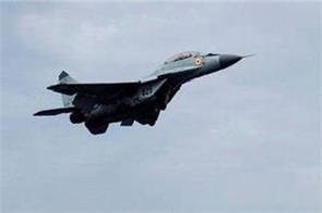 rajasthan mig 29 fighter plane crash pilot safe in accident