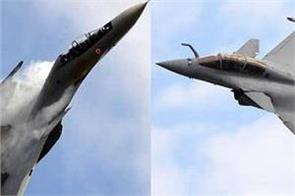 rafale sukhoi and mirage 2000 will join india in the exercise with france