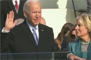 joe biden sworn in as america s 46th president
