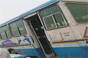 delivery of woman in haryana roadways bus pain started on way
