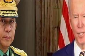joe biden orders sanctions against myanmar after military coup