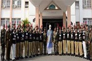 ncc cadets are the brand ambassadors of unity discipline and culture