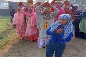 bhagwat saptah ends with kalash yatra in ramgarh