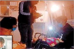 girl suffering from pain gave birth to twins in park