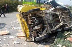 accident in samba 4 injured