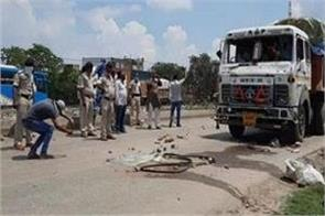 a young man died after being hit by a truck in saran