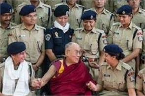 dalai lama indian police