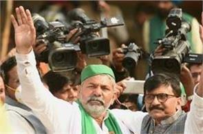 kisan agitation got support from shiv sena