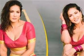 sunny leone shares her kerala look photos