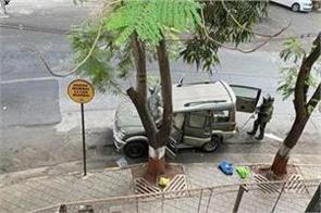 car found near mukesh ambani s house antilia stolen explosives found in car