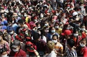 myanmar thousands rally for defiance of military coup