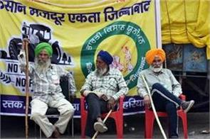 the number of farmers agitating is continuously decreasing