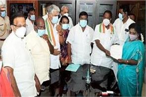 cabinet approves president s rule in puducherry