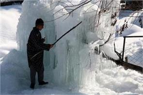 weather improve in kashmir