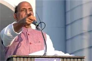 rajnath said in tamil nadu  no one can occupy an inch of land in the country