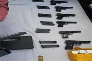 ammunition recovered in samba