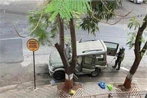 suspected car found outside mukesh ambani s house  antilia