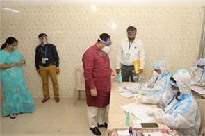 corona investigation of chief minister vijay rupani came negative