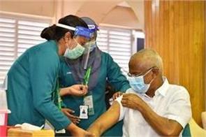 president of maldives got corona vaccinated