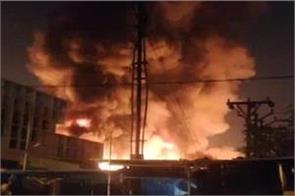 pune fierce fire in fashion street market all shops burnt down