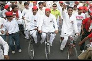 sp to take cycle trip from rampur to lucknow from 13 to 21 march