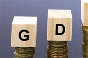 8 decline in gdp forecast better than expected fm