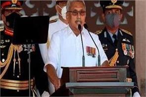 gotbaiah rajapaksa said  government will not bow down to unhrc pressure