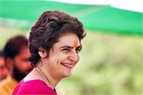 priyanka gandhi congratulated the countrymen on holi