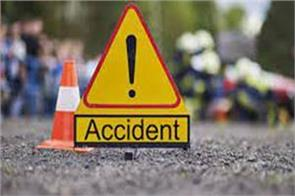 accident near ramgarh 13 injured