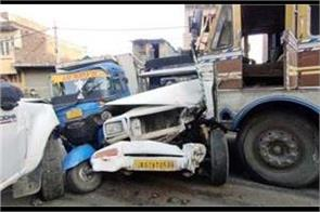accident in narwal 2 killed 4 injured