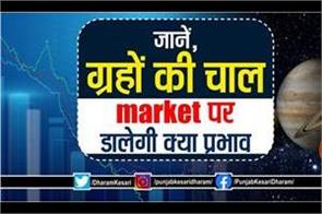 planets effects on market in hindi