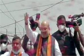 election campain west bengal amit shah
