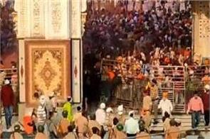 nanded gurudwara violence 18 people arrested for attack on policemen