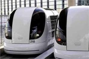 noida international airport consideration of running driverless  pod taxi