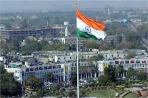 tricolors will be flown all over the capital like connaught place
