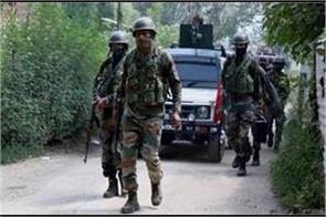 terrorist hideout busted at kashmir karnah