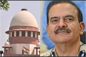 hearing in the supreme court tomorrow on the petition of parambir singh