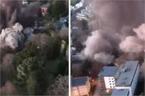 ww2 bomb detonated after homes evacuated watch video