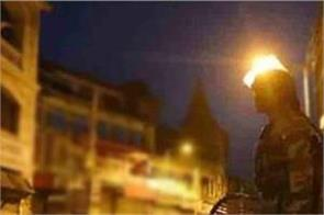 nocturnal curfew in eight cities of rajasthan