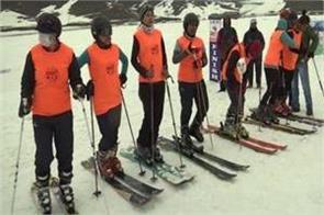 first woman ski in gulamrg
