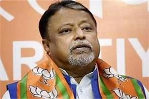 bjp vice president mukul roy gets z category security instead of y in bengal