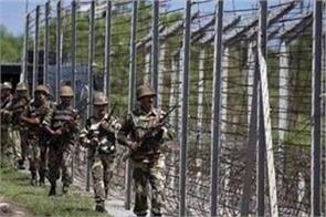 pakistani intruder entered into indian border army personnel caught